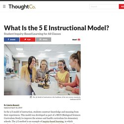 What Is the 5 E Instructional Model?