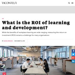 Nouvelle - What is the ROI of learning and development?