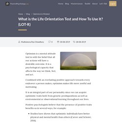 What is the Life Orientation Test and How to Use It? (LOT-R)