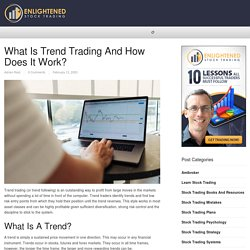 What is Trend Trading and how does it work?