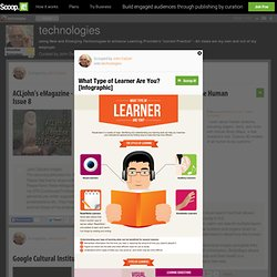 What Type of Learner Are You? [Infographic] | technologies