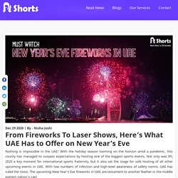 what UAE has to offeronNew Year's Eve2021