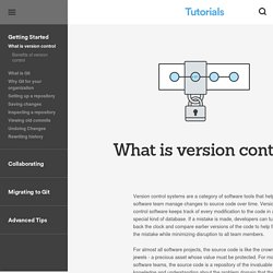 What is version control?