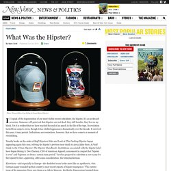 What Was the Hipster?