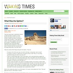 What Was the Sphinx?
