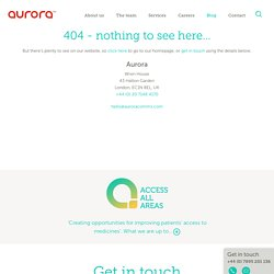 What we do | Aurora