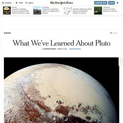 What We've Learned About Pluto