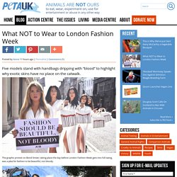 What NOT to Wear to London Fashion Week