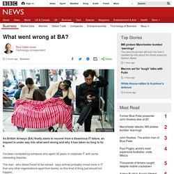 What went wrong at BA?