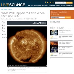 What Will Happen to Earth When the Sun Dies?