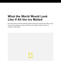 What the World Would Look Like if All the Ice Melted