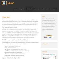 What is XBian?