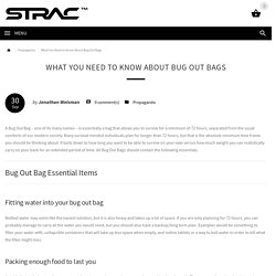 What You Need to Know About Bug Out Bags