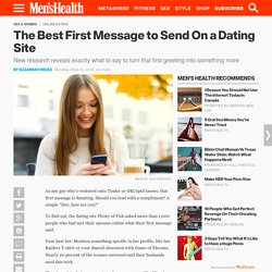 What to Say In Your First Message to a Girl Online