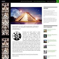 What is Your Mayan Spirit Animal?