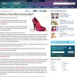 What's Your Shoe Personality? | How Life Works