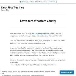 Lawn care Whatcom County