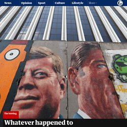 Whatever happened to the Berlin Wall?