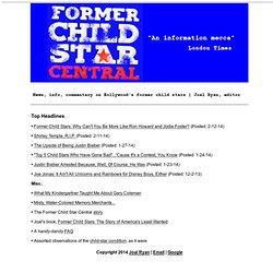 Former Child Star Central