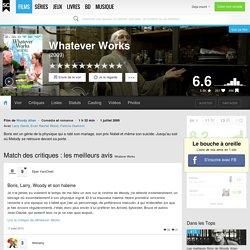 Whatever Works - Woody Allen