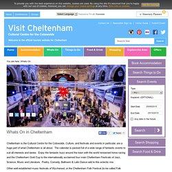 Whats On in Cheltenham – Visit Cheltenham