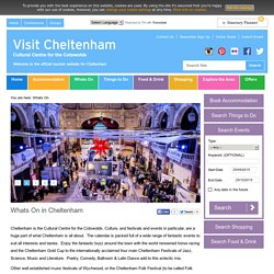 Whats On in Cheltenham – Visit Cheltenham