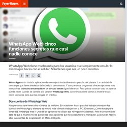 WhatsApp Web: cinco funciones secretas que casi nadie conoce