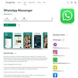 WhatsApp Messenger - Apps on Google Play