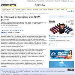 El WhatsApp de los padres Una AMPA paralela