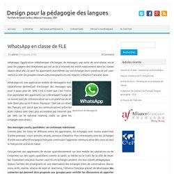 Design TIC pour la pédagogie des langues