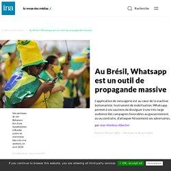 Au Brésil, Whatsapp est un outil de propagande massive