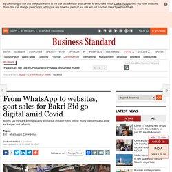 From WhatsApp to websites, goat sales for Bakri Eid go digital amid Covid