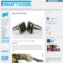 Lego Interlocking Ring