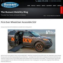 Bussani Mobility - New York Braunability MXV
