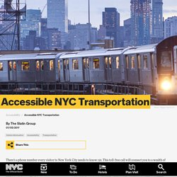 Are NYC Subways Wheelchair Accessible? Answers to Accessible New York Transportation Questions
