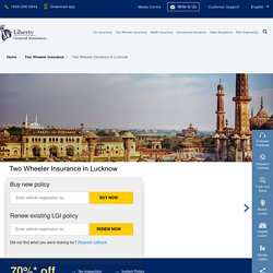 Two Wheeler Insurance in Lucknow: Buy/Renew Bike Insurance Policy in Lucknow