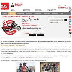 Bike Insurance Policy India- HDFC ERGO