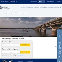 Two Wheeler Insurance in Surat: Buy/Renew Bike Insurance Policy in Surat