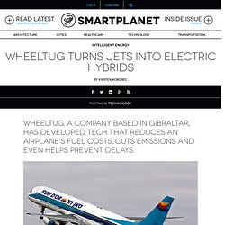 WheelTug turns jets into electric hybrids