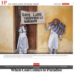 When Coal Comes to Paradise