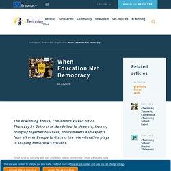 When Education Met Democracy