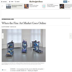 When the Fine Art Market Goes Online