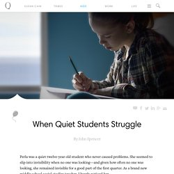 When Quiet Students Struggle