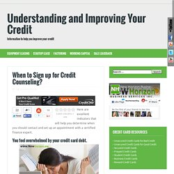 consumer credit counseling