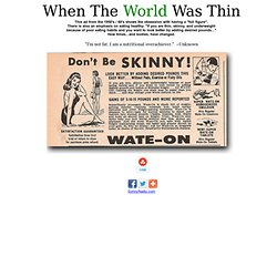 When The World Was Thin - What It Took To Get Noticed