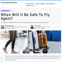When Will It Be Safe To Fly Again?