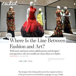 Where Is the Line Between Fashion and Art?