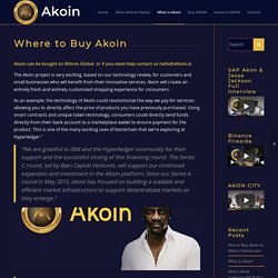Where to Buy Akoin - How To Invest In Akoin