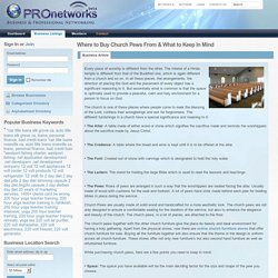 Where to Buy Church Pews From & What to Keep In Mind