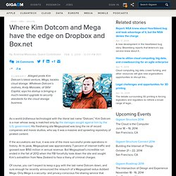 Where Kim Dotcom and Mega have the edge on Dropbox and Box.net